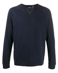 Camiseta de manga larga azul marino de Paul Smith