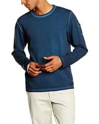 Camiseta de manga larga azul marino de s.Oliver