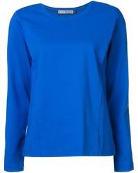 Camiseta de manga larga azul original 1283091