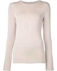 Camiseta de manga larga beige original 1287681