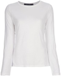 Camiseta de manga larga blanca original 1284009