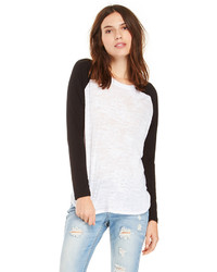 Camiseta de manga larga blanca y negra original 3140115