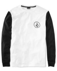 Camiseta de manga larga blanca y negra original 9727725