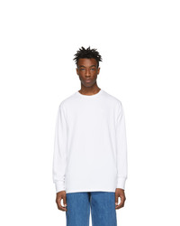 Camiseta de manga larga blanca de Aimé Leon Dore