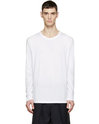 Camiseta de manga larga blanca de Alexander Wang