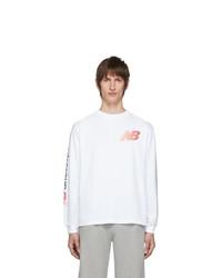 Camiseta de manga larga blanca de Aries