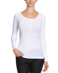 Camiseta de manga larga blanca de Blaumax