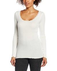 Camiseta de manga larga blanca de Cream