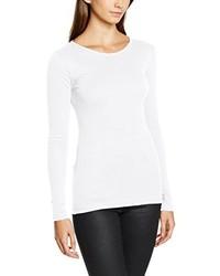 Camiseta de manga larga blanca de Dorothy Perkins