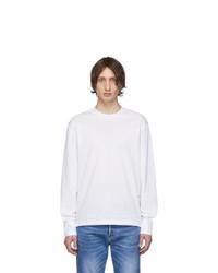 Camiseta de manga larga blanca de DSQUARED2