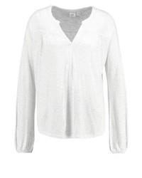 Camiseta de Manga Larga Blanca de Gap