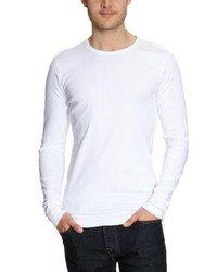 Camiseta de manga larga blanca de Garage