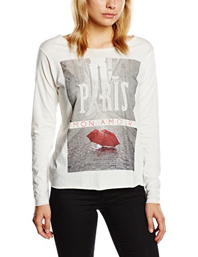 Camiseta de manga larga blanca de Inside