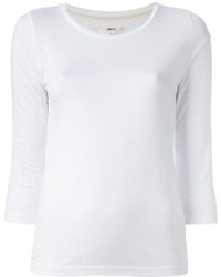 Camiseta de manga larga blanca de J Brand