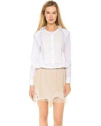 Camiseta de manga larga blanca de Nina Ricci
