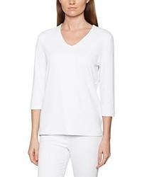Camiseta de manga larga blanca de Olsen