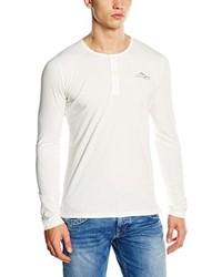 Camiseta de manga larga blanca de Pepe Jeans