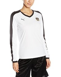 Camiseta de manga larga blanca de Puma