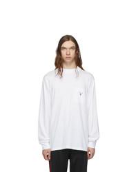 Camiseta de manga larga blanca de South2 West8