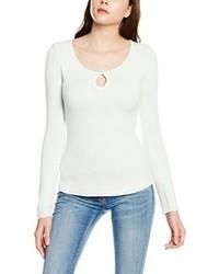 Camiseta de manga larga blanca de Tally Weijl