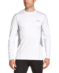 Camiseta de manga larga blanca de Under Armour