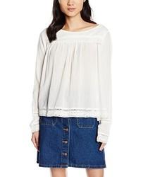 Camiseta de manga larga blanca de Vila
