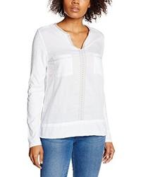 Camiseta de manga larga blanca de YERSE
