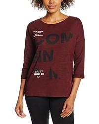 Camiseta de manga larga burdeos de Q/S designed by