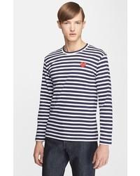 Camiseta de manga larga de rayas horizontales original 9728122