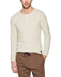 Camiseta de manga larga en beige de s.Oliver