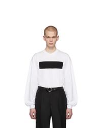 Camiseta de manga larga en blanco y negro de Random Identities