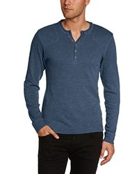 Camiseta de manga larga en gris oscuro de Esprit