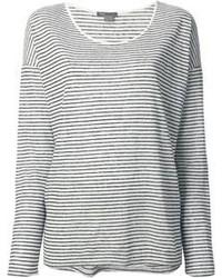 Camiseta de manga larga en negro y blanco