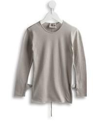 Camiseta de manga larga gris