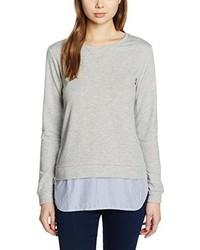 Camiseta de manga larga gris de Dorothy Perkins