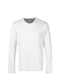 Camiseta de manga larga gris de Eleventy