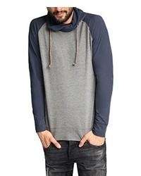 Camiseta de manga larga gris de Esprit