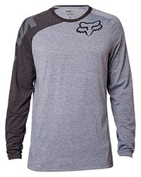Camiseta de Manga Larga Gris de Fox Racing