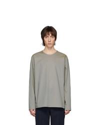 Camiseta de manga larga gris de Lemaire