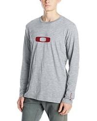 Camiseta de manga larga gris de Oakley