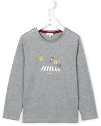Camiseta de manga larga gris de Paul Smith