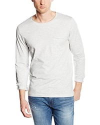 Camiseta de Manga Larga Gris de Selected Homme