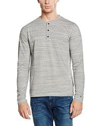 Camiseta de manga larga gris de Tommy Hilfiger