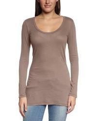 Camiseta de manga larga marrón claro de Bobi