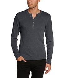 Camiseta de manga larga negra de Esprit