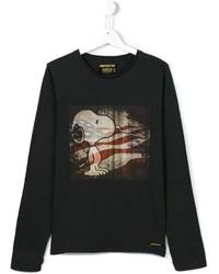 Camiseta de manga larga negra de Finger In The Nose