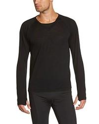 Camiseta de manga larga negra de Gore Running Wear