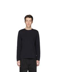 Camiseta de manga larga negra de Jil Sanderand