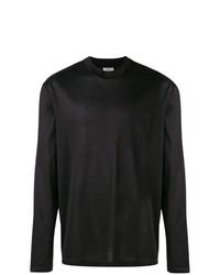 Camiseta de manga larga negra de Lanvin