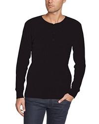 Camiseta de manga larga negra de Levi's